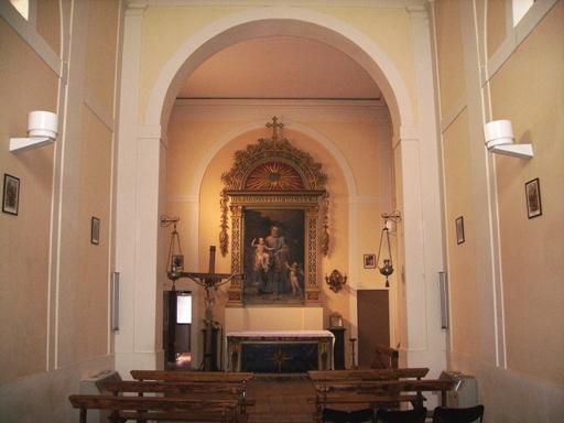 Interno chiesa di S. Giuseppe