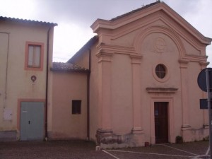Ostello - Facciata della Chiesa annessa alla struttura