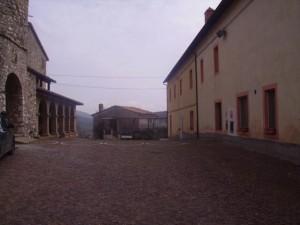Ostello - Piazzetta antistante l'Ostello