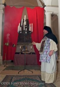Sommo Sacerdote nel Tempio